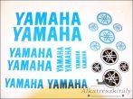 DECAL SET YAMAHA /BLUE/